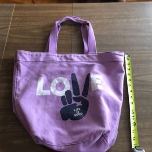 Life Is Good Bags - Life Is Good Peace Love Tote